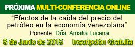 Conferencia online de economía